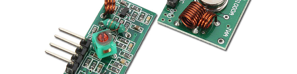 433MHz RF Transmitter Receiver modules for wireless communication