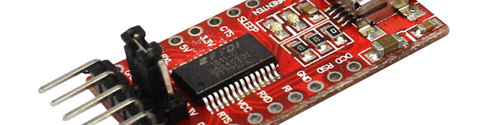 The FTDI USB/UART module (FTDI programmer)