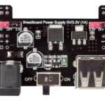 Breadboard Power Supply 5V/3.3V