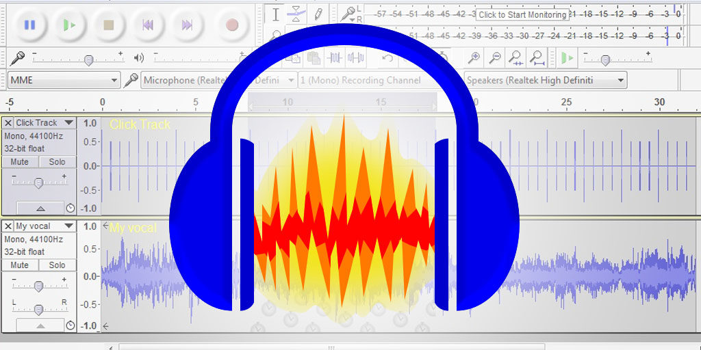 Professional audio editing with Audacity