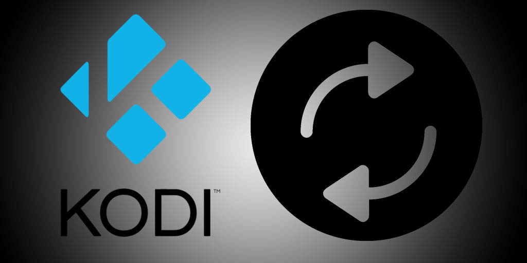 Automatic media library updates for Kodi media centre
