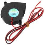 12V Radial 5015 Turbo Blower Cooling Fan
