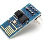 ESP-01 module (blue)