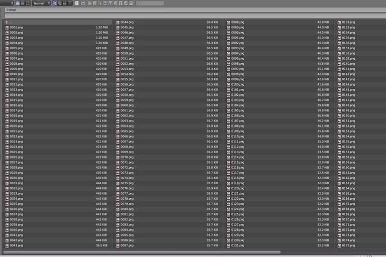 Blender render output directory