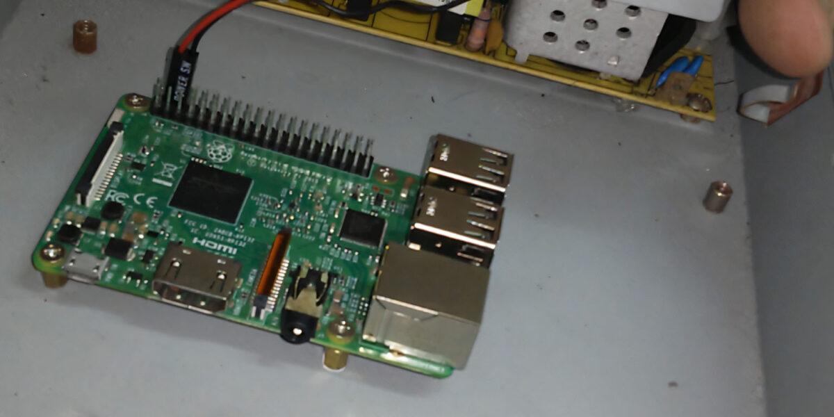 Building a Raspberry Pi into mini-ITX tower