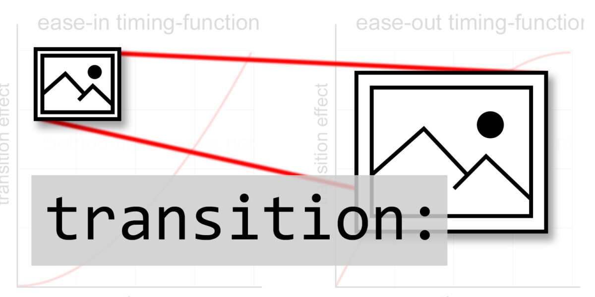 CSS transitions and how to use them