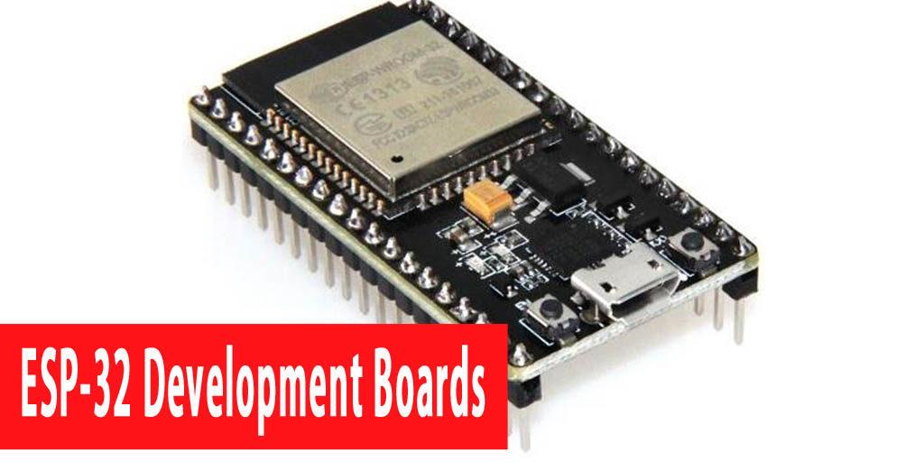 ESP32 development boards for Wi-Fi communication