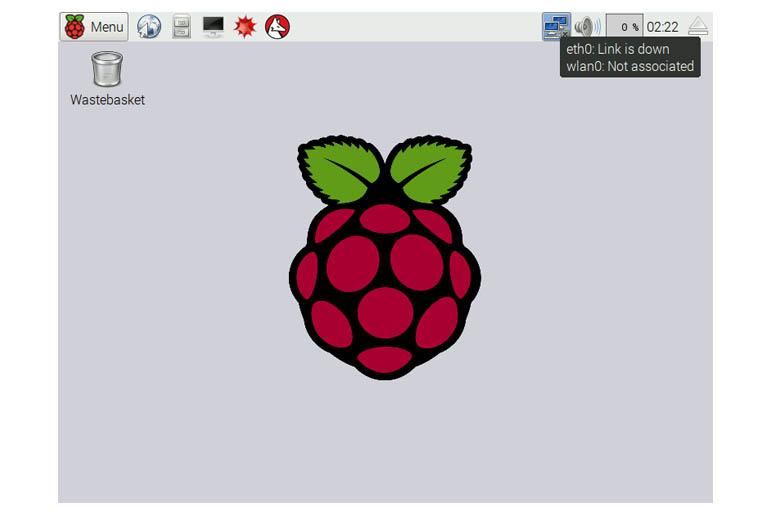 Raspbian GUI network settings