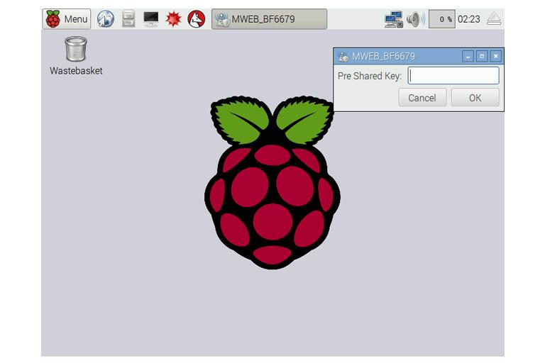 Raspbian GUI Wi-Fi configuration