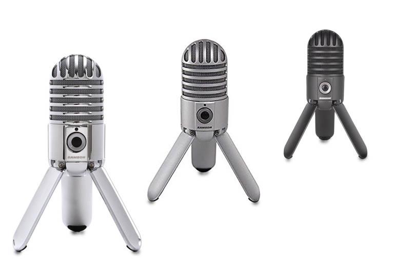 SAMSON Meteor mics