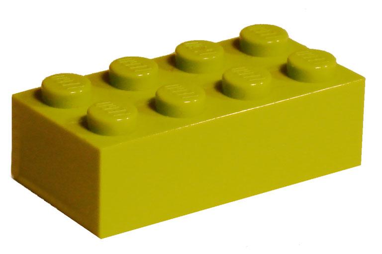 Solid LEGO brick