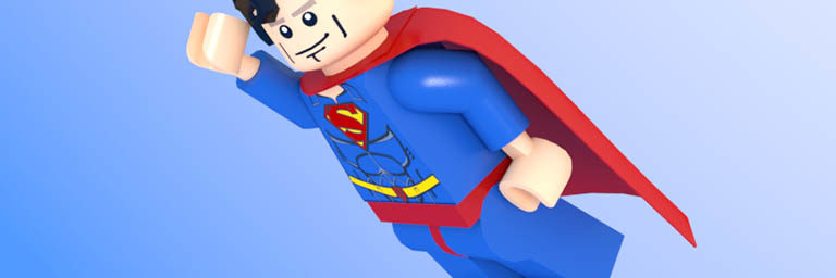 Brick Superman