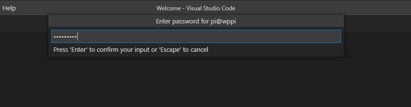VS Code Remote-SSH password