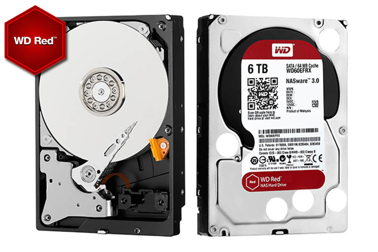 WD Red hard drives