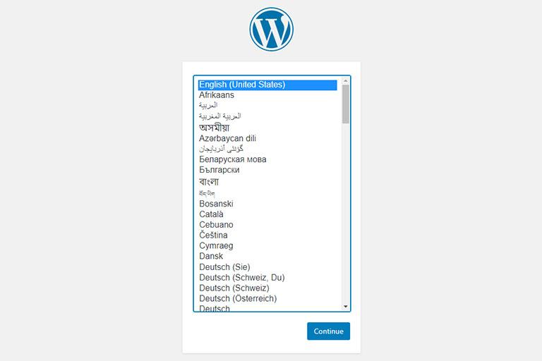 WordPress installer on Raspberry Pi